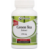 Green Tea Extract Te Verde100 Caps. Adelgaza Y Quema Grasa