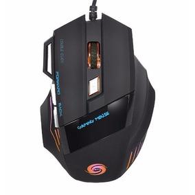 Mouse Gamer Pro Optico 5500dpi Usb Led 7 Botones Gaming