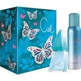Ciel Mujer Perfume Set Original X50ml Perfumesfreeshop!!!!!!