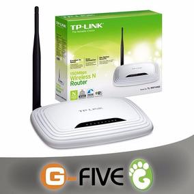 Router Tp Link 741nd 1 Antena Desmontable 150mbps Tl-wr741nd