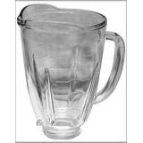 Vaso De Cristal Licuadora Reversible +cuchilla 6 Aspas+rosca