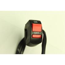 Switch Apagador Motocicleta 12 Volts Manubrio 7/8 A 1 On Off