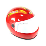 Capacete Infantil Vermelho Bicicross Bike - Coiote Kids