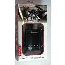 Transmissor Veicular Fm Usb P2 Bluetooth Acendedor Cigarros