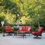 Sala De Rattan Para 4 Personas Ideal Para Jardin O Terraza