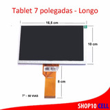Tela Display Turbo Tablet Candide Barbie 7 Polegadas