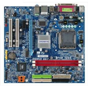 Placa Mae 775 Ddr2 Gigabyte Ga-vm900m Com Espelho S Process