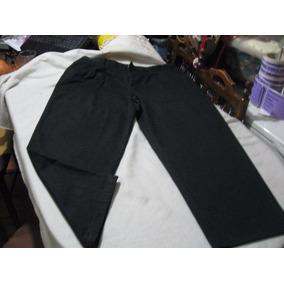 Pantalon De Vestir Basic Edition Talla W44l32 Con Pinzas Col