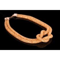 Collar De Nudo Tipo Stardust Swarovski Dorada 14010001-12