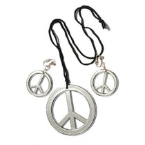 Jumbo Metal Paz Collar De Accesorios De Vestuario