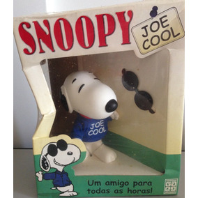 Boneco Snoopy Joe Cool Na Caixa Grow Raro Ano 2000