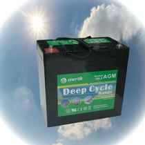 Batería Agm Ciclo Profundo 12 V. 55 Ah, Enertik
