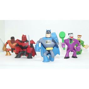 Lote De Bonecos Miniaturas Dc Super Heroes Squad