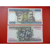 Brasil Billete 500 Cruzeiros Unc 1985