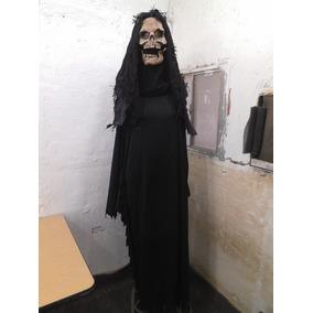 Traje Disfras Mascara Calavera Para Halloween Talla L #803