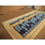 Abaco Soroban Portátil 10,8x23,5x2cm Madeira Metal Plastic