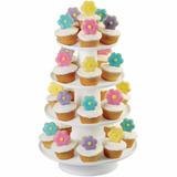 Wilton Soporte Cupcakes Base Pasabocas Torre Graduable