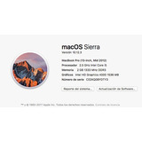 Apple Macbook Pro 2012 - Laptop 13.3 In 2gb Ram/2.5gh Xtreme