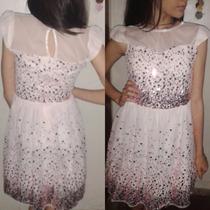 Hermoso Vestido Corto, Nuevo!