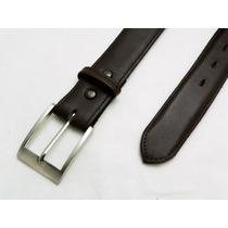 Cinturón Largo Grande Extra Piel Talla 44-58 De 35 Mm Piel
