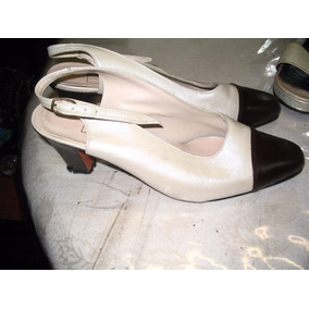 Sandalias Zapatos Mujer 39 Guido Gabrielli Vestir Cuero