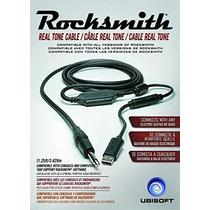 Rocksmith Real Tone Cable Ps4 Ps3 Xbox Pc Mac Nuevo Sellado