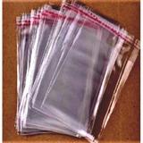 Embalagens Saquinhos Plastico Com Aba Adesiva