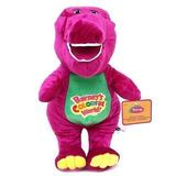 Peluche Barnie O Barney 32cm El Dinosaurio Que Canta