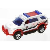 Camioneta Ford Explorer 2012 Bomberos Matchbox