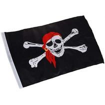 Bandeira Pirata Jolly Roger 1,5m X 90cm