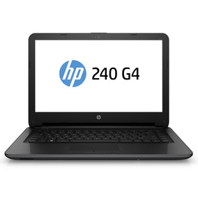Notebook Hp 240 G4 Tela Led 14 Core I3 Memória 4gb Hd 500gb