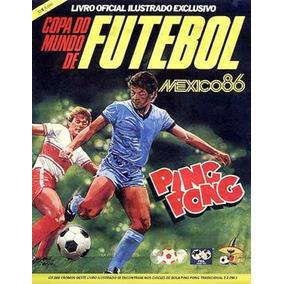Álbum Figurinhas Completo Copa Do Mundo 1986 Ping Pong (dg)