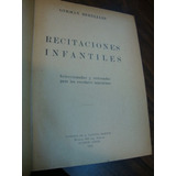 Recitaciones Infantiles. Berdiales, German