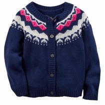 Carters Sweater Hilo Perro Dog Nena T6 Levhe Importados