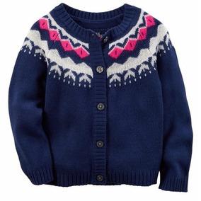 Carters Sweater Cardigan Saquito Saco Nena Levhe Importados