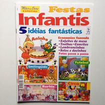 Revista Mãos De Ouro Especial Festas Infantis Barbie N°10