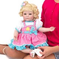 Boneca Bebê Reborn Perfeita E Barata Promoção Adora Doll