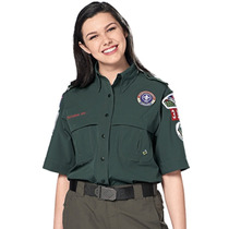 Camisa Uniforme Mujer Boy Scouts Protección Solar+40 Talla M