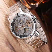 Reloj Winner Mecanico Automatico Mineral Glass Envio Gratis