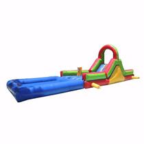 Brincolin Escaladora Interactiva Acuatica 3x8m