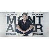 Ricardo Montaner Entrada Platea Fila 18 Fecha 20/11