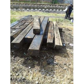 Durmientes De Ferrocarril Largos De Madera Tizayuca Hidalgo