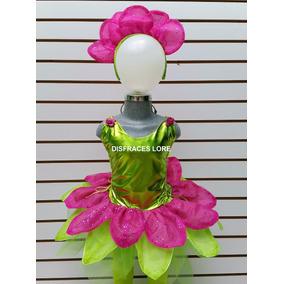 Disfraz De Flor Tutu Mallas Disfraces Primavera Niñas