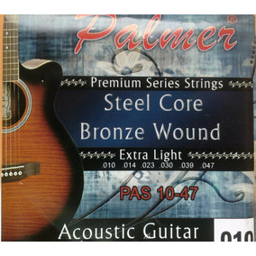 Cuerdas Para Guitarra Electroacustica (010) Palmer