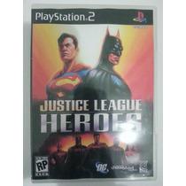 Liga Da Justiça Ps2 - Frete Grátis