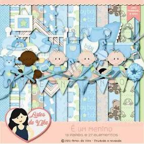 Kit Imprimible Baby Shower Nene 7 Imagenes Clipart
