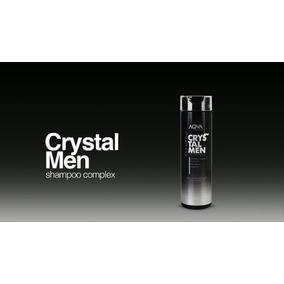 Crystal Men Shampoo Complex Purifica Anti Graso Sin Sulfatos
