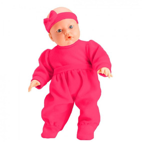 Boneca Bebe Jensen Check-me Com Kit Médico Roupa Pink 5433