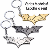 Chaveiro Batman Logo Morcego Arkham City Dark Kinght Metal