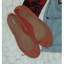 Zapatillas Importadas Marca Pimkie Naranja Solo Talla 37